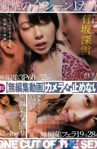 PKPD-038 Unedited Video I Can Not Stop The Camera!ONE CUT OF THE SEX Arisaka Miyuki