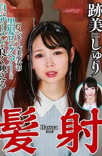 NEO-670 Hair Shot Beauty Twilight Twin Tail Beautiful Girls Black Hair Long Shirt White Cum Shines Well