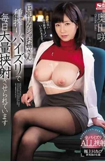 SSNI-465 It Is Made A Large Amount Of Daily Shooting In The Seed Squeezed Paizuri Of The Busty Rikajo Older Sister Saki Okuda
