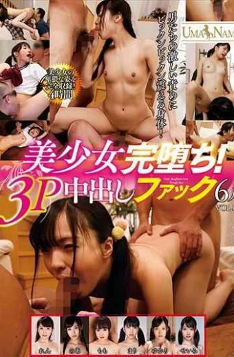 UMSO-255 Pretty Girl Is Over!Three Fuck Creampie 6 People VOL.02