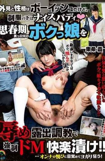 SORA-228 The Appearance And The Character Is Boyish But The Uniform Is A Nice Buddy Adolescent Girl In The Middle Of The Convulsions And Forced De M Pleasure Pickled In Exposure Torture! ! Wait For The Pleasure Of Women And Go Crazy! Akira Tojo