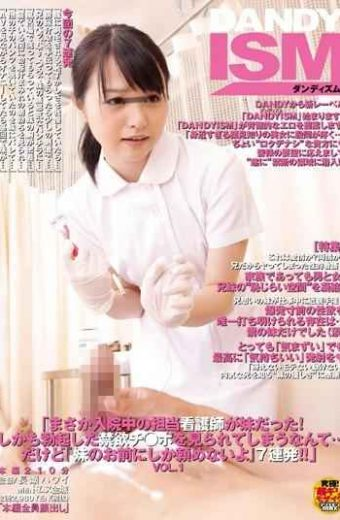 "DISM-001 Nurse In The Hospital Was My Sister ""No Way! ""I Am Not Only You Can Ask My Sister"" But … I Could Be Seen The Po Ji  Abstinence Erect Barrage 7 Guaranteed! ! ' VOL.1"