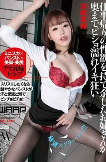 WFR-006 My Older Sister Who Had A Sexual Desire After Work Returned To The Back