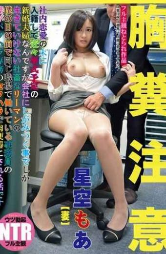 NKKD-006 Hoshizora Moa Office Lady Sexual Harassment Private Pussy