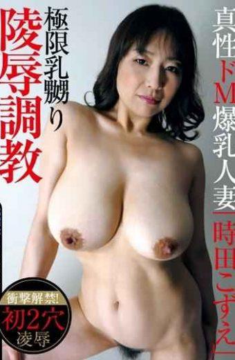 "EMBZ-188 Intrinsic De M Huge Tits Married Woman ""Kozue Tokita"""