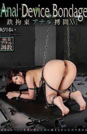 GVG-944 Anal Device BondageXVI Iron Restraint Anal Torture Rui Hizuki