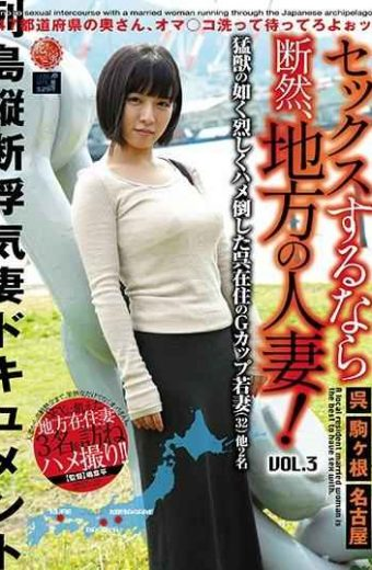 LCW-003 If You Have Sex It Is A Local Married Woman! VOL.3