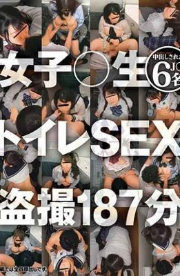BDSR-416 Girls  Raw Toilet SEX Voyeur 187 Minutes