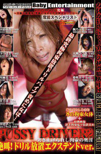 DXPD-002 Horny Screaming Back Of The Pot Is Pushed Up Meat Ki Specialist PUSSY DRIVER 2 Functional!Extend Ver Drill Stand.