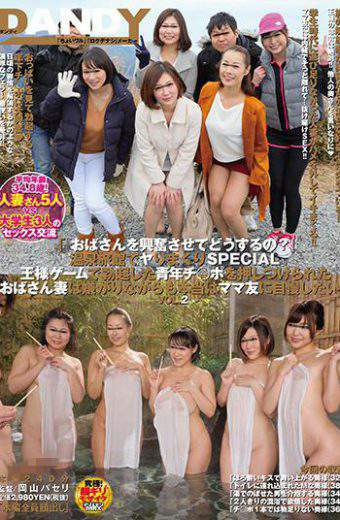 DANDY-593 How Do You Get Excited By Your AuntSprinkling At A Hot Spring Inn Ryokan SPECIAL Young Man Who Erected In The Game Elegant Ji   I Want To Brag To My Mum Friend In Fact Despite Being Disgusted By My Wife. VOL.2