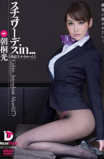 VDD-093 Stewardess In … suite Intimidation Room Cabin Attendant Akari 27
