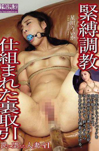 NTRD-071 Married Wife Who Fell Into A Trap 41 Hoshikawa Uunaka