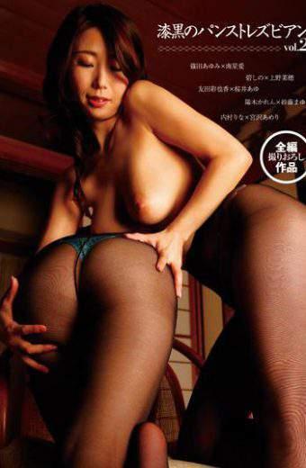 LZWM-009 Jet-black Pantyhose Lesbian Vol.2