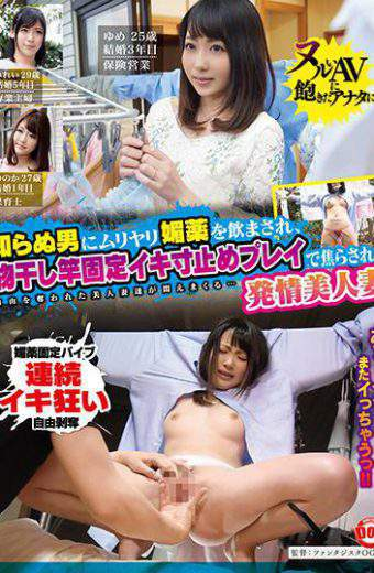 HAR-071 Being Drunk By A Strange Man With Muriyari Aphrodisiac An Esthetic Beauty Wife Impatient With A Clothespin Fixed Ironing Stop Play