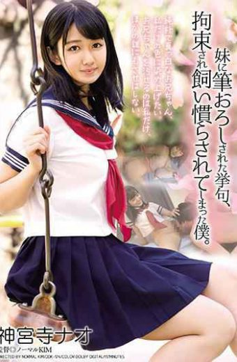 DDK-174 My Sister 's Writing Brush My Servant Who Was Tied Up And Tame. Shinjinji Nao