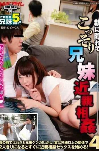 GDTM-123 Secretly Brother And Sister Incest Hiding In The Parent!deliberately Brother And Sister Fight In Front Of The Parent!but In Fact As Soon As They Are Alone With The Above Relationship Brother And Sister Begin The Incest Sex!four