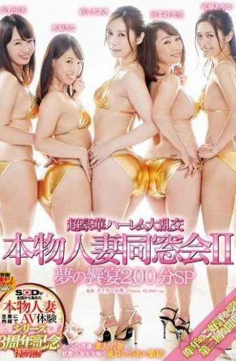 SDNM-088 Ultra-luxurious Harlem Gangbang Real Married Reunion 2