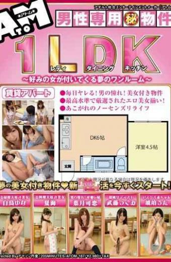 ATOM-187 Studio – A Dream Woman Secret Property 1ldk Of Ready Kitchen – Like Men-only Come With