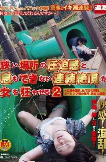 NHDTA-295 Continuous Orgasms That You Can Not Breath And Tightness Narrow Place Derail A Woman! 2 To Park Playground Equipment Clearance Of Residential Area Blind Spot Of Bowling Field Of Country-road