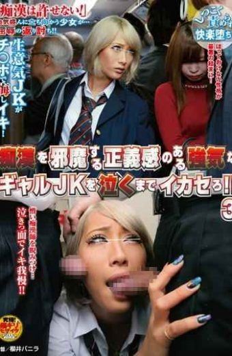 NHDTA-838 Ikasero To Cry A Bullish Gal Jk With A Sense Of Justice To The Way A Pervert! ! Three