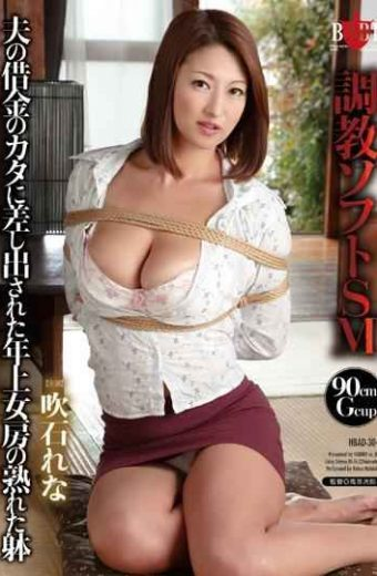HBAD-304 Torture Of Older Wife That Was Proffered To Soft Sm Kata Debt Husband Ripe Body Lena Fukiishi