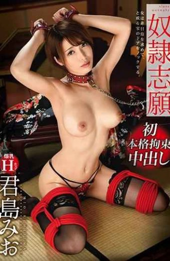 TKI-084 Slave Volunteer 8 First Full-bodied Restraint Cum Shot Kijima Mio