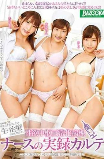 MDB-934 Reality Center For Lymphatic Normalization Ward Nurse Actual Record Karte Ichibashi Erinana Hanasaka Ieno