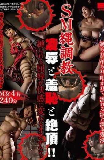 HODV-21330 SM Rope Breeding Insult And Shame And Cum! !Onna Who Are Tied Up Humiliation Turns Into Pleasure