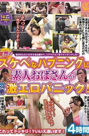 YLWN-043 An Amateur Lady Gets Suddenly In A Sharp Happening Happening Erotic Erotic Panic!4 Hours